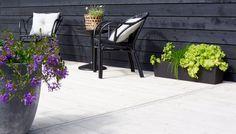 Outdoor living area, terrace. Nordic garden design - designed by Green Idea