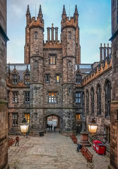 New College, Edinburgh, Scotland.