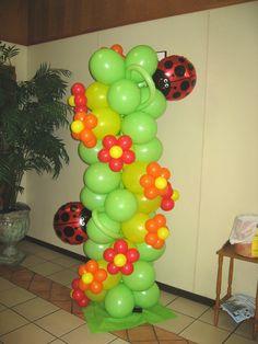 Balloon Decor of Central California - COLUMNS