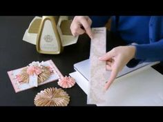 Anna Griffin Cuttlebug 3D Paper Tricks How To
