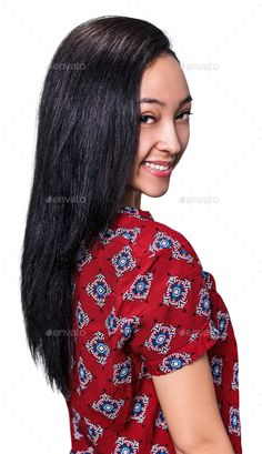Young beautiful girl with long black hair by llhedgehogll. Price $5