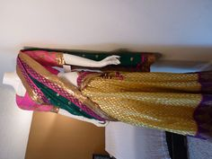Material: Brocade skirt  Blouse: Rawsilk  Dupatta: Georget