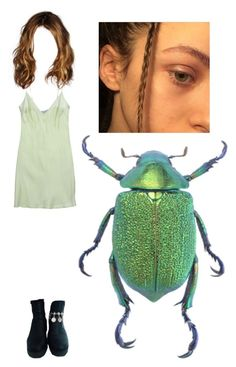 """""""Beetle girl"""" by methlick ❤ liked on Polyvore featuring Blumarine"""