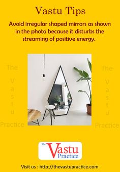 Vastu-And-Mirrors Vastu And Mirrors Feng Shui And Vastu, Feng Shui Tips, Vastu Shastra, Cute Bedroom Ideas, Self Design, House Elevation, New House Plans, Home Design Plans, Interior