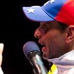 """Capriles: """"Este gobierno siempre trata de llevar la política a la falsedad y a la mentira"""""""
