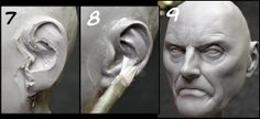 Sculpting a bust with Andy Bergholtz