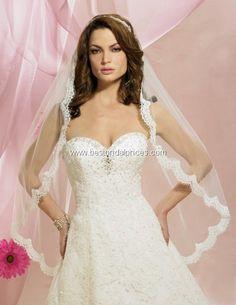 Symphony Bridal Veils - Style 5627VL Symphony Bridal Veils, Spring 2011. 1 tier veil with scallop lace edge. *Veil Only.* Colors: Ivory, White, Diamond White $120.00
