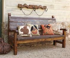 mexican bench for the porch