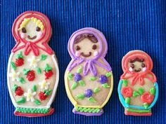 Matryoshka sisters cookie by 8tokyo.com, via Flickr