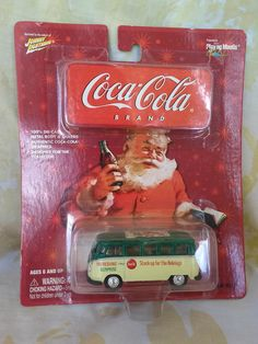 VOLKSWAGEN SAMBA BUS - COCA COLA - BEAUTIFUL - 1:64 #CocaCola #VW #Volkswagen #Bus