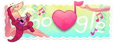 Doodleando, Los Logos de Google: Día de San Valentín 2017 (día 2)