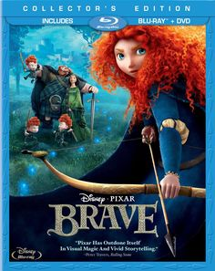 Amazon.com: Brave (Three-Disc Collector's Edition: Blu-ray / DVD): Kelly Macdonald, Emma Thompson, Billy Connolly, Julie Walters, Robbie Col...