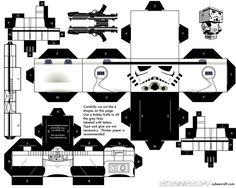 Stormtrooper papercraft