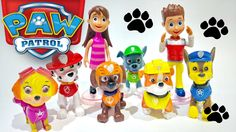 PAW Patrol Play Doh Surprise Toys Ryder Marshall Rubble Rocky Skye Chase...