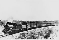 First through train on the Trans Australian Railway, 22 October Wa Gov, Steam Locomotive, Western Australia, Pos, Trains, Westerns, Transportation, Reading, Image