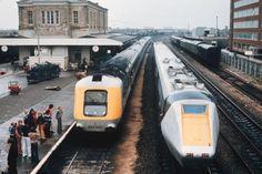 1979 British Rail Advanced Passenger Train – So Near, Yet So Far Locomotive Engine, Electric Locomotive, Diesel Locomotive, Buses And Trains, Old Trains, Uk Rail, Train Room, Gas Turbine