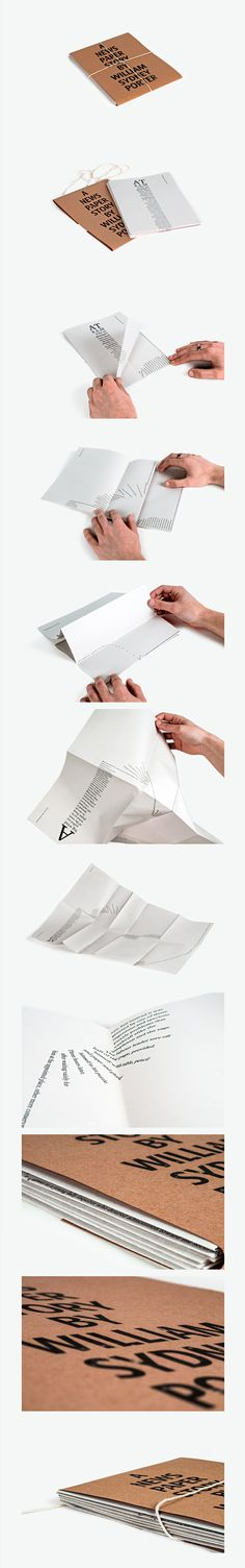 Interactive Print- A Newspaper Story  \ Graphic Design, Typography, Print Design \ Anthony Smith