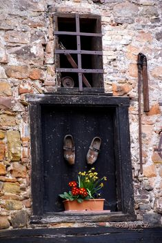 French Windows, Alsace, Photography
