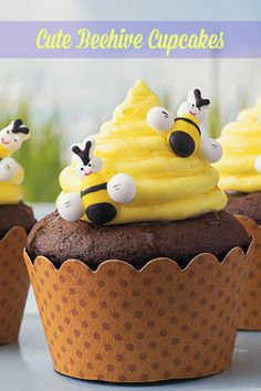 The perfect Spring cupcakes to impress!