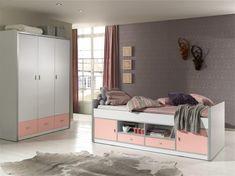 Set Mobila dormitor pentru copii Bonny - https://ideidesigninterior.ro/set-mobila-dormitor-pentru-copii-bonny/