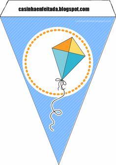 bandeirola parabéns para imprimir, MENINOS - Pesquisa Google