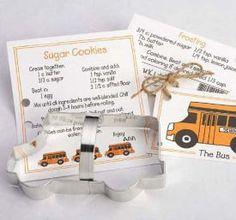 School Bus Cookie Cutter by KreativeBakingShop on Etsy, $3.60