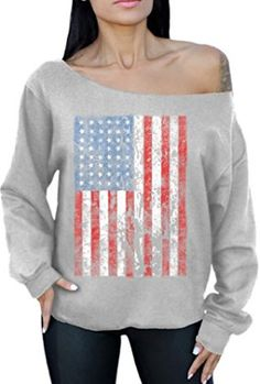American-Flag-Distressed-4th-July-Off-the-Shoulder-Oversized-Sweater-Sweatshirt-0