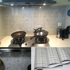 Kitchen Backsplash Contact Paper buy pvc waterproof bathroom kitchen backsplash wallpaper cabinet