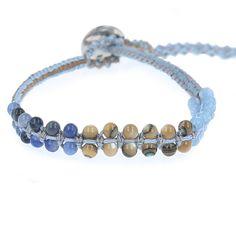 Chan Luu - Blue Mix Cotton Cord Single Wrap Bracelet, $70.00 (https://www.chanluu.com/bracelets/blue-mix-cotton-cord-single-wrap-bracelet/)