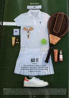 """Conde Nast Traveler features Birch Arnica Body Oil in their Word of Mouth column saying, """"This month we're taking a cue from Wimbledon---and classic, crisp whites with understated accessories have the advantage."""" With extracts of birch leaf and arnica to soothe, revitalize and support flexibility, Birch Arnica Body Oil definitely aces it."""