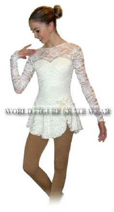 figure skating dresses, world figure skate wear, lace skate dress