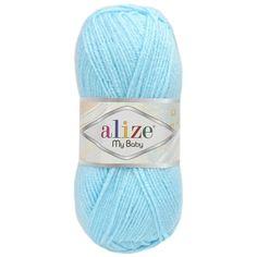 Alize My Baby 189 pastelová modrá Pool Slides, Diva, Fashion, Moda, Fashion Styles, Divas, Fashion Illustrations, Godly Woman