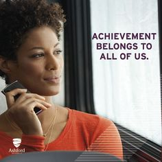 Achievement belongs to all of us!