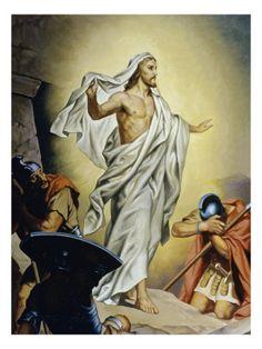 Jesus Resurrected.