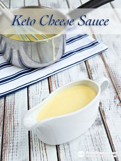 Keto Cheese Sauce (low-carb, grain-free, primal)