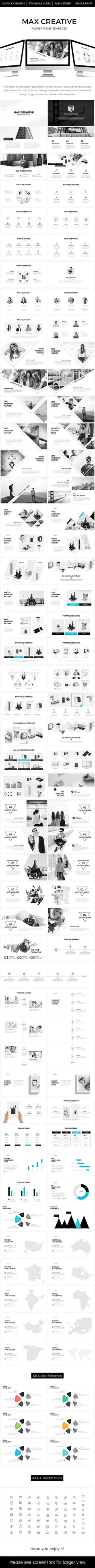 businew powerpoint template | creative, template and business, Presentation templates