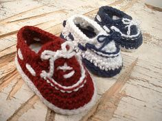Ravelry: Baby Boat Shoes pattern by Betsy Rheaume