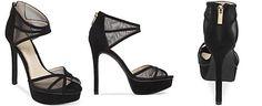 Jessica Simpson Ceyanna Mesh Platform Dress Sandals