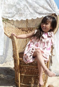 Sweet high summer kids fashion shoot from How to Kiss a Frog