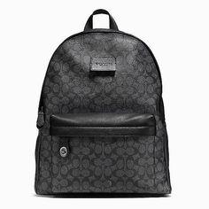 26d93a1ff9d525 Backpack in Signature Coated Canvas #Coach #coachpurses70percentoff Сумки  Коуч, Coach Сумки, Сумки