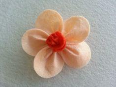 DIY Simple Felt Flower