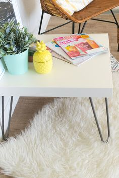 9c08bcc9092f 24 Best Ikea Hacks using Hairpin Legs images