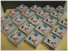 spazio alla mia fantasia: scatoline portaconfetti bimbo