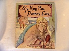 My King Has Donkey Ears 1986 Childrens Book by EauPleineVintage, $8.00