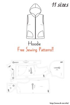 Offer Good Until Theyre Gone => This specific thing For Tshirt Ideas Recycle Sewing Patterns For Kids, Sewing Projects For Kids, Doll Clothes Patterns, Clothing Patterns, Sewing For Kids, Hoodie Pattern, Jacket Pattern, Sewing School, Free Sewing