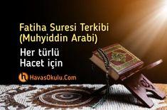Muhiddin arabi FAtiha suresi Tertibi Health Benefits, Allah, Books, Rodents, Amphibians, Marine Life, Pisces, Tuna Dog, Pet Health