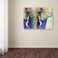 how to draw head Elephant Face, Elephant Canvas, Anime Wolf Drawing, Animal Paintings, Acrylic Paintings, Watercolor Art, Watercolor Animals, Box Art, Art Tutorials
