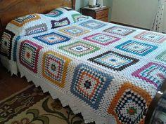 Granny bedspread ♡