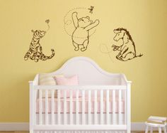 Clic Winnie The Pooh Tigger Eeyore And By Grabersgraphics Nursery Baby Decor