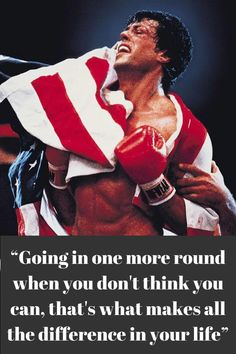 Rocky Quotes, Rocky Balboa Quotes, Fitness Inspiration Quotes, Inspiration Wall, Character Inspiration, Motivational Quotes For Working Out, Positive Quotes, Inspirational Quotes, Motivation Wall